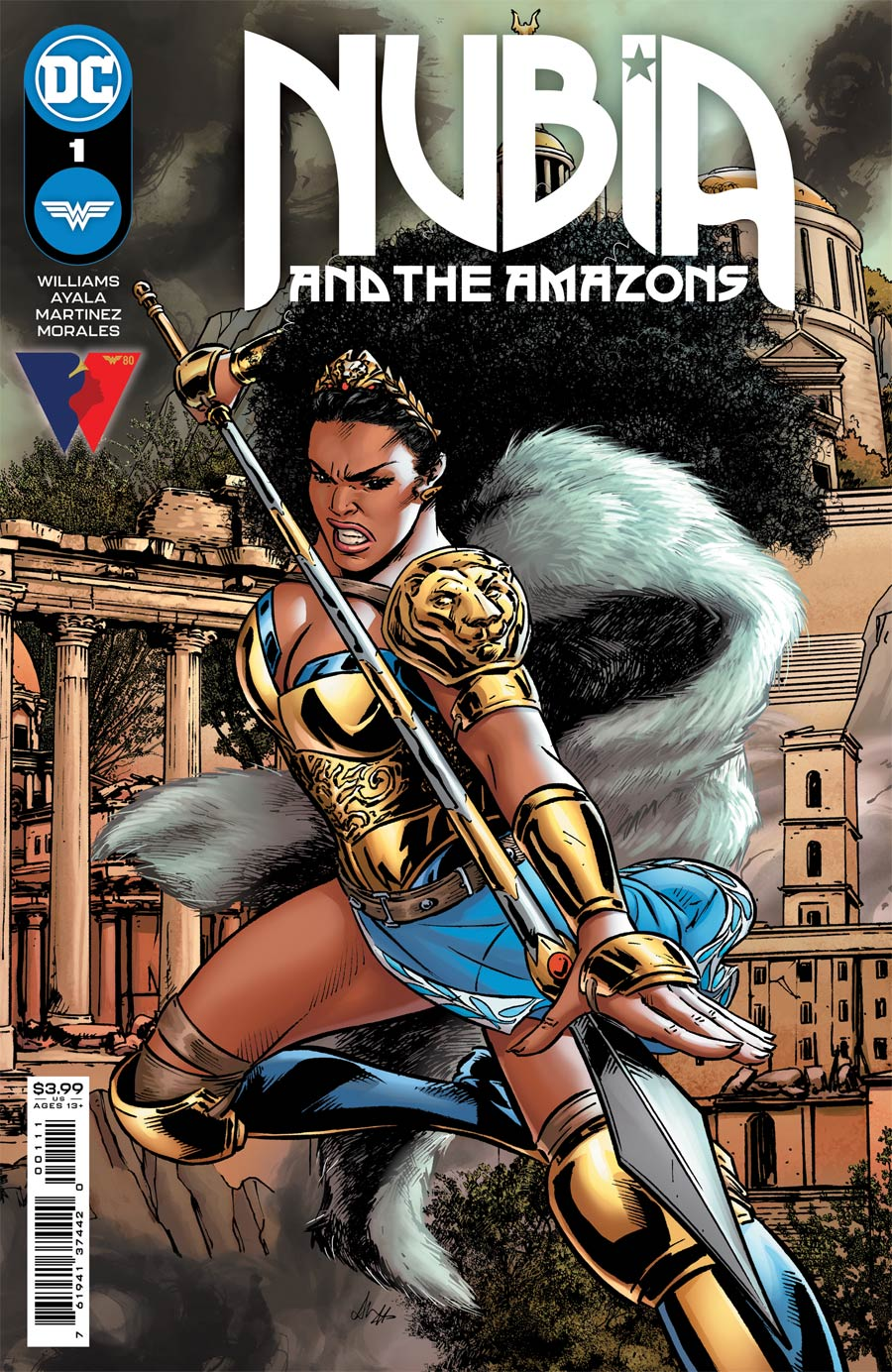 Nubia And The Amazons #1 Cover A Regular Alitha Martinez Cover