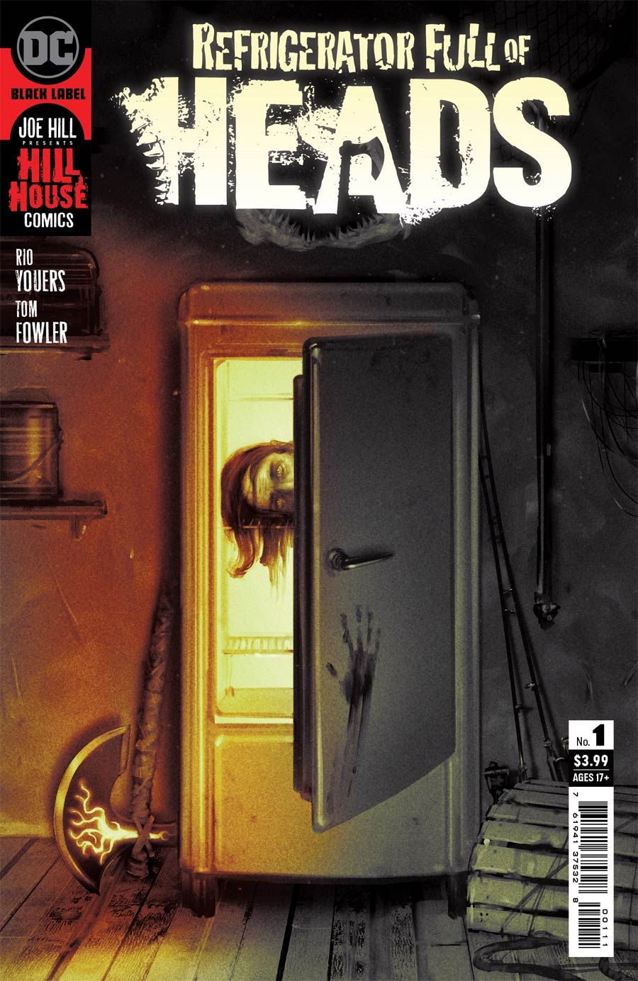 Refrigerator Full Of Heads #1 Cover A Regular Sam Wolfe Connelly Cover