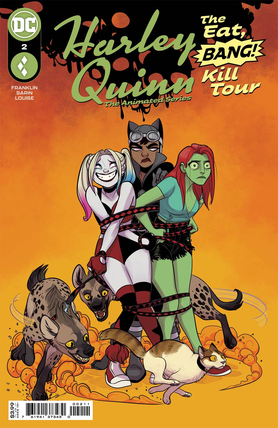 Harley Quinn The Animated Series The Eat Bang Kill Tour #2 Cover A Regular Max Sarin Cover