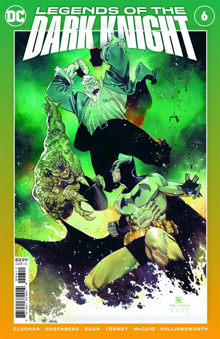 Legends Of The Dark Knight Vol 2 #6 Cover A Regular Dike Ruan Cover