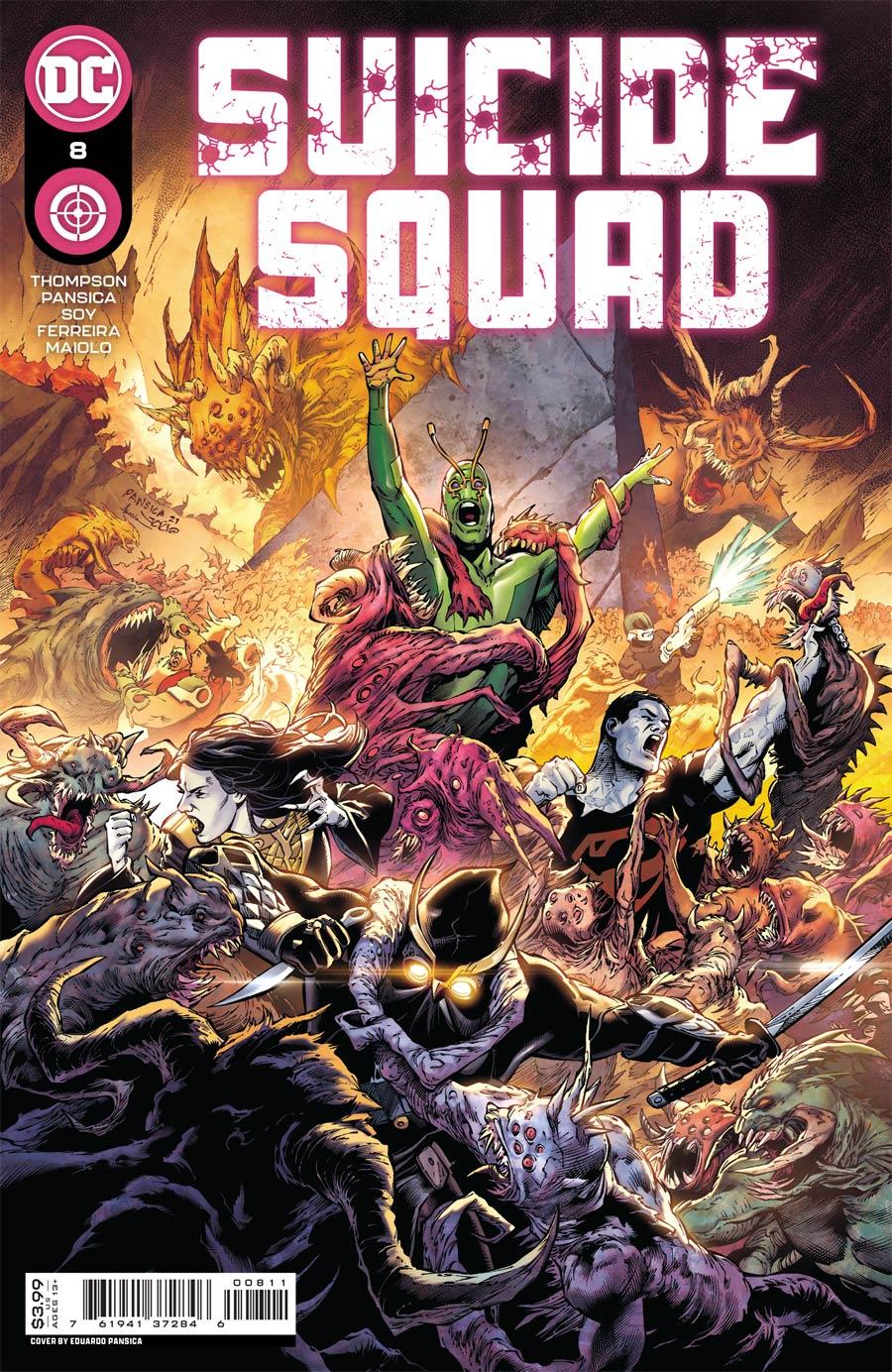 Suicide Squad Vol 6 #8 Cover A Regular Eduardo Pansica Cover
