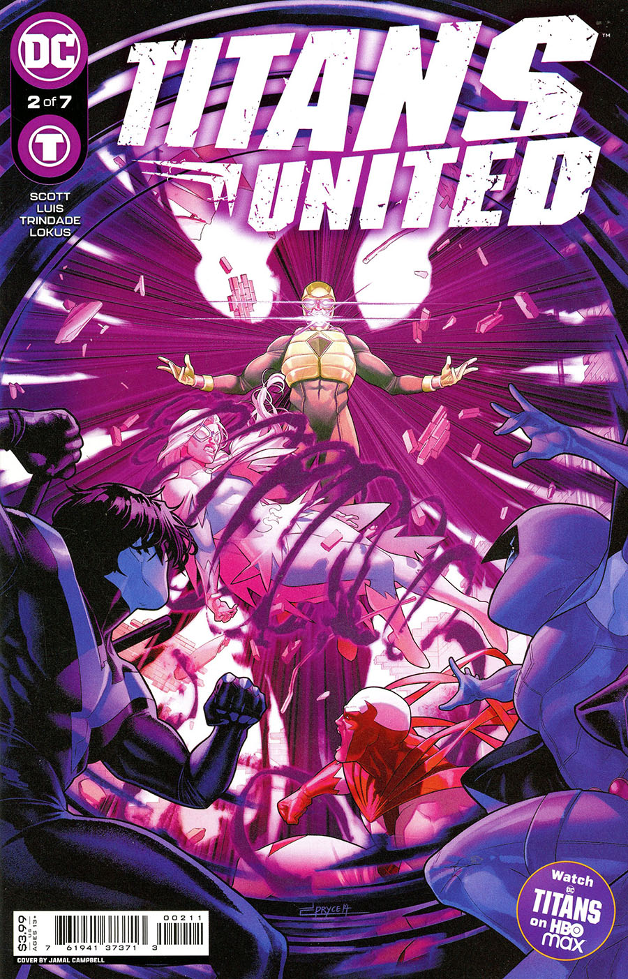Titans United #2 Cover A Regular Jamal Campbell Cover