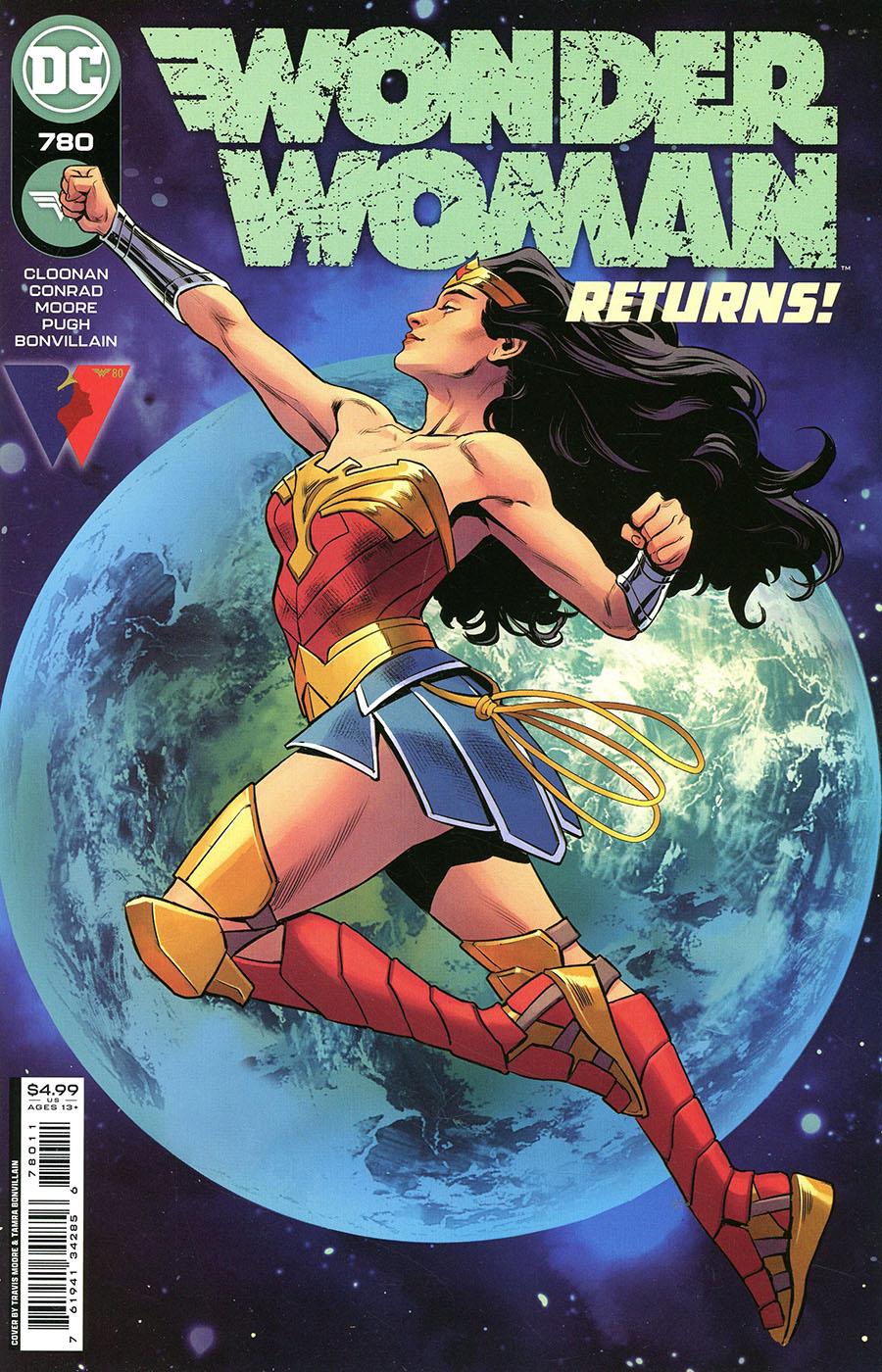 Wonder Woman Vol 5 #780 Cover A Regular Travis Moore Cover