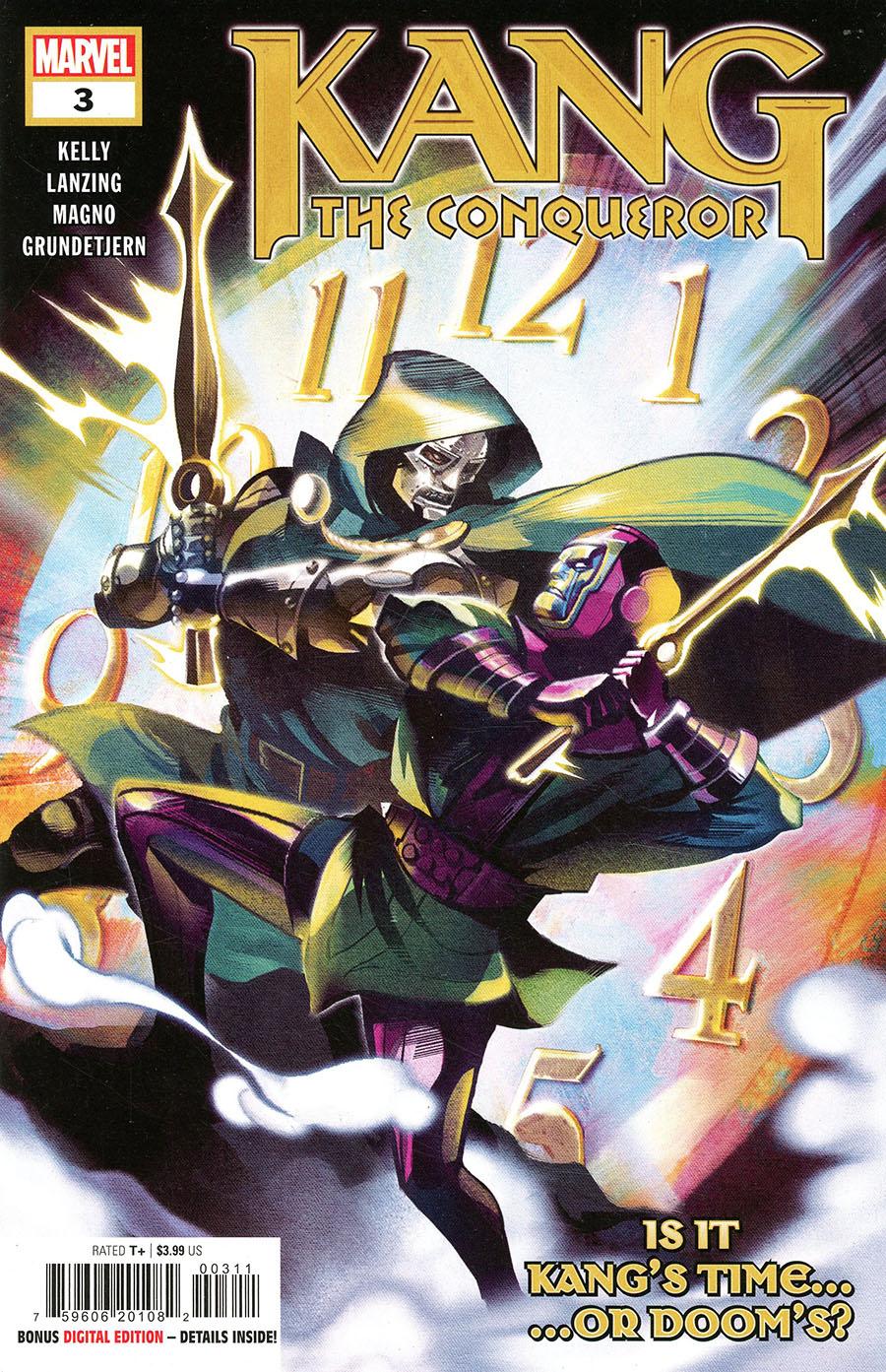 Kang The Conqueror #3 Cover A Regular Mike Del Mundo Cover