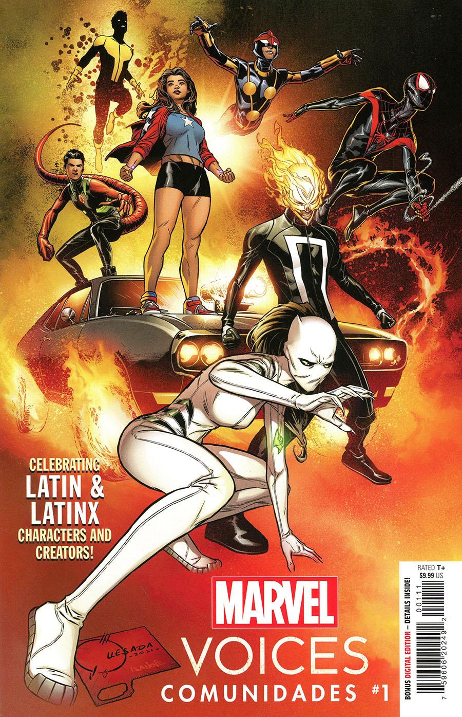 Marvels Voices Community (Comunidades) #1 (One Shot) Cover A Regular Joe Quesada Cover