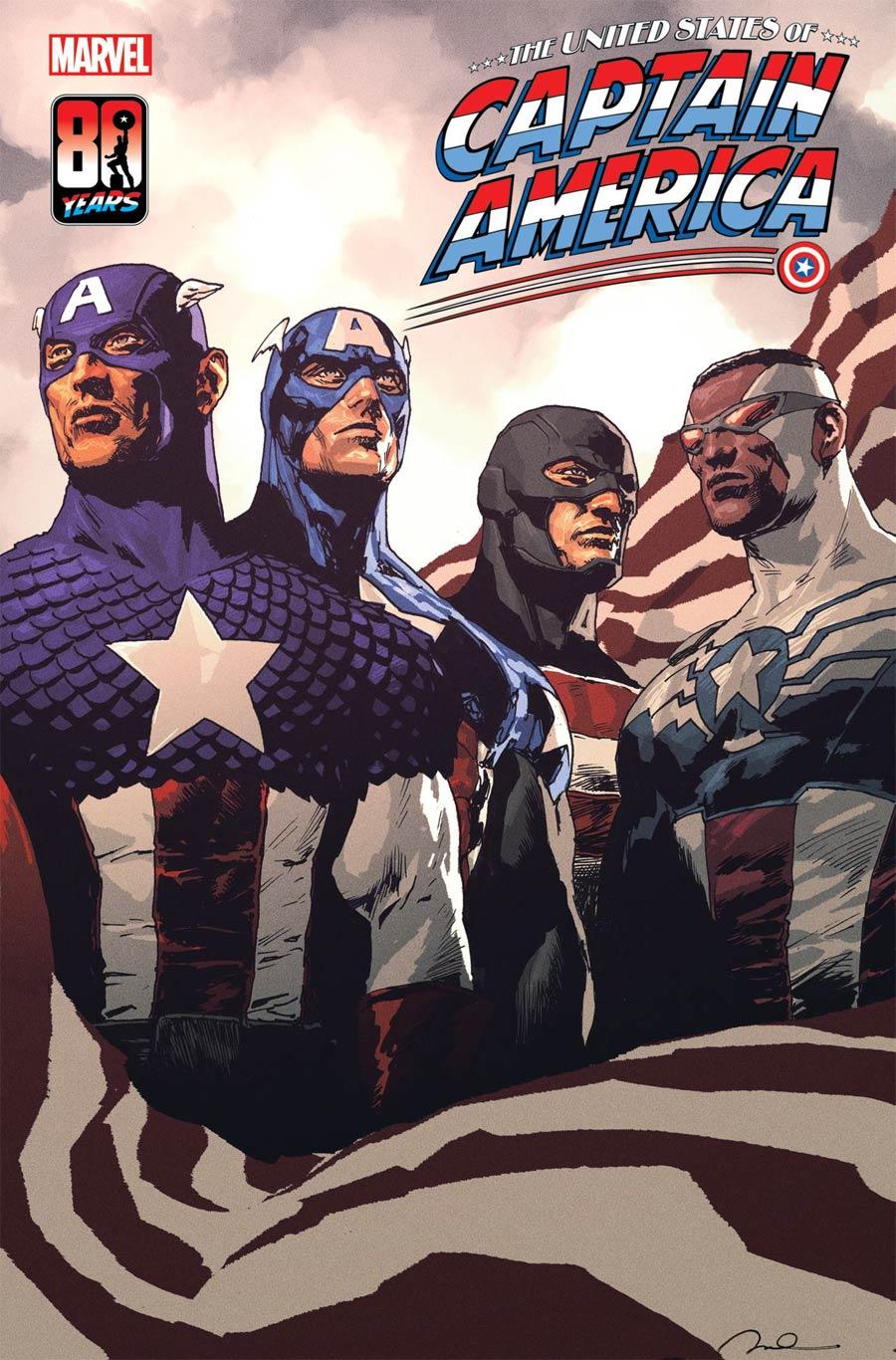 United States Of Captain America #5 Cover A Regular Gerald Parel Cover