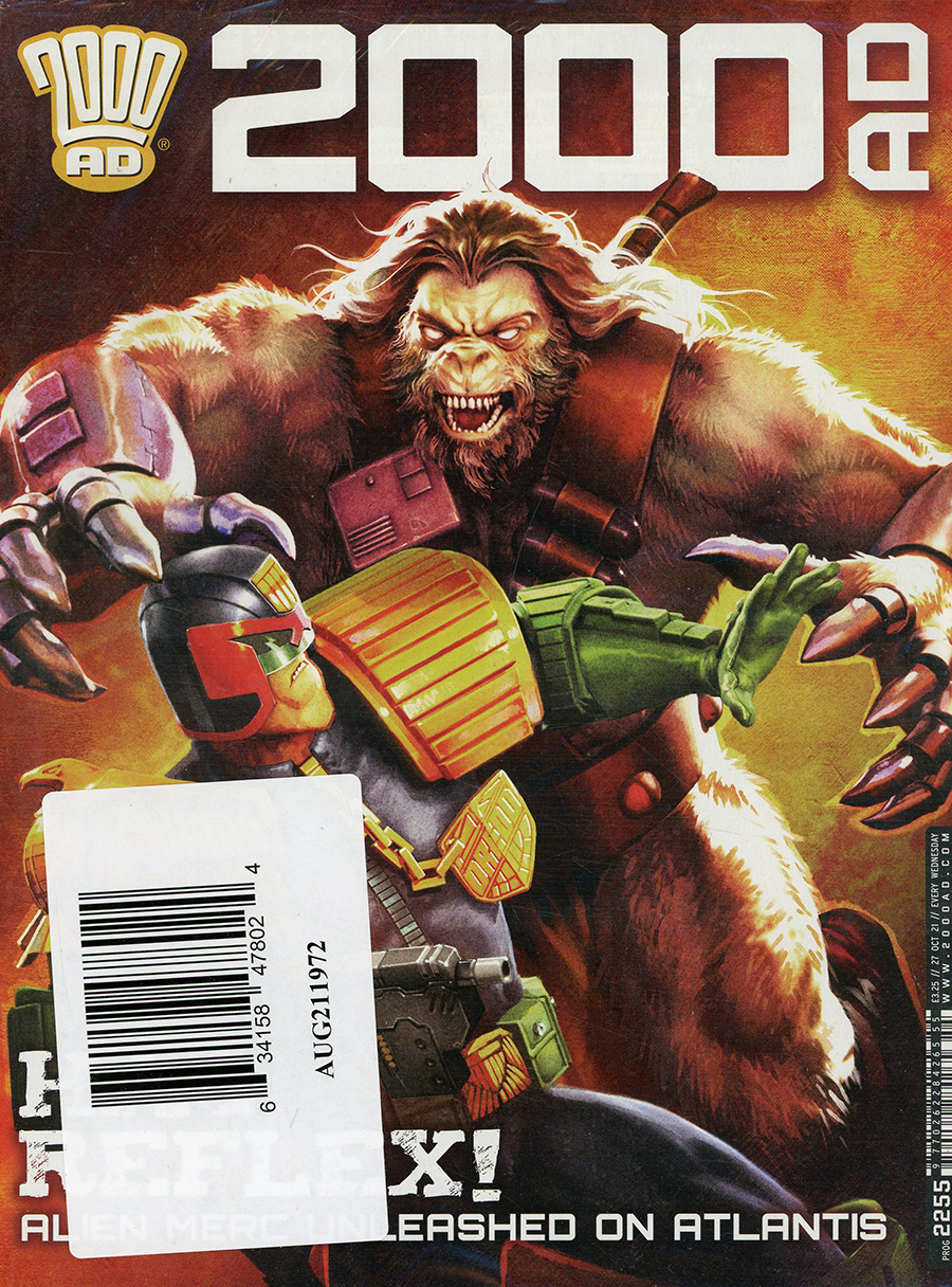 2000 AD Pack October 2021