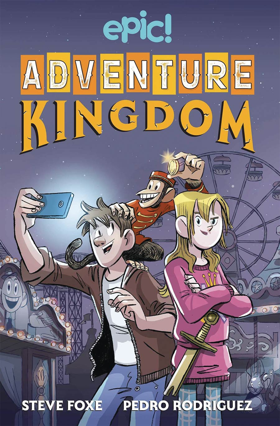 Adventure Kingdom Book 1 TP