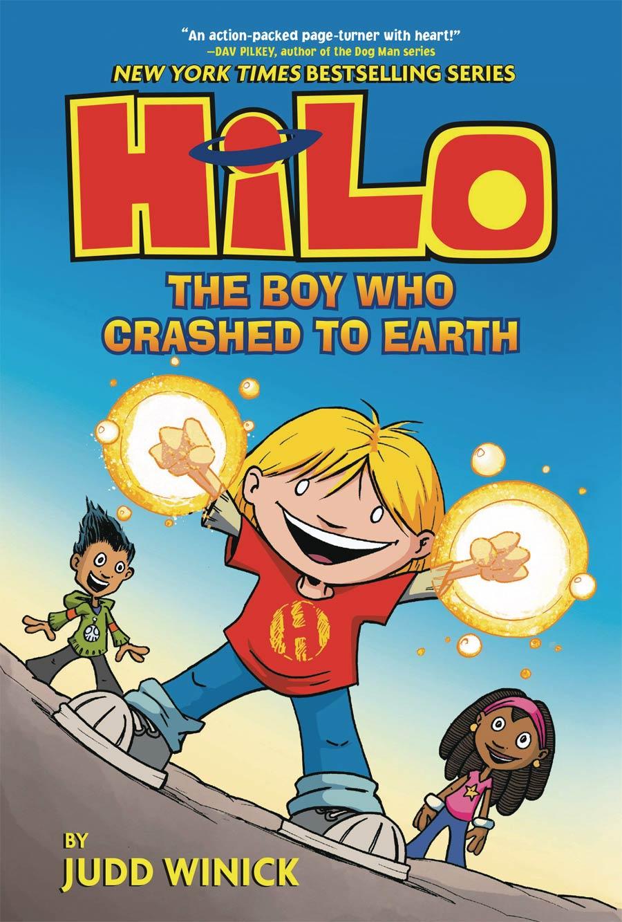Hilo Vol 1 Boy Who Crashed To Earth TP