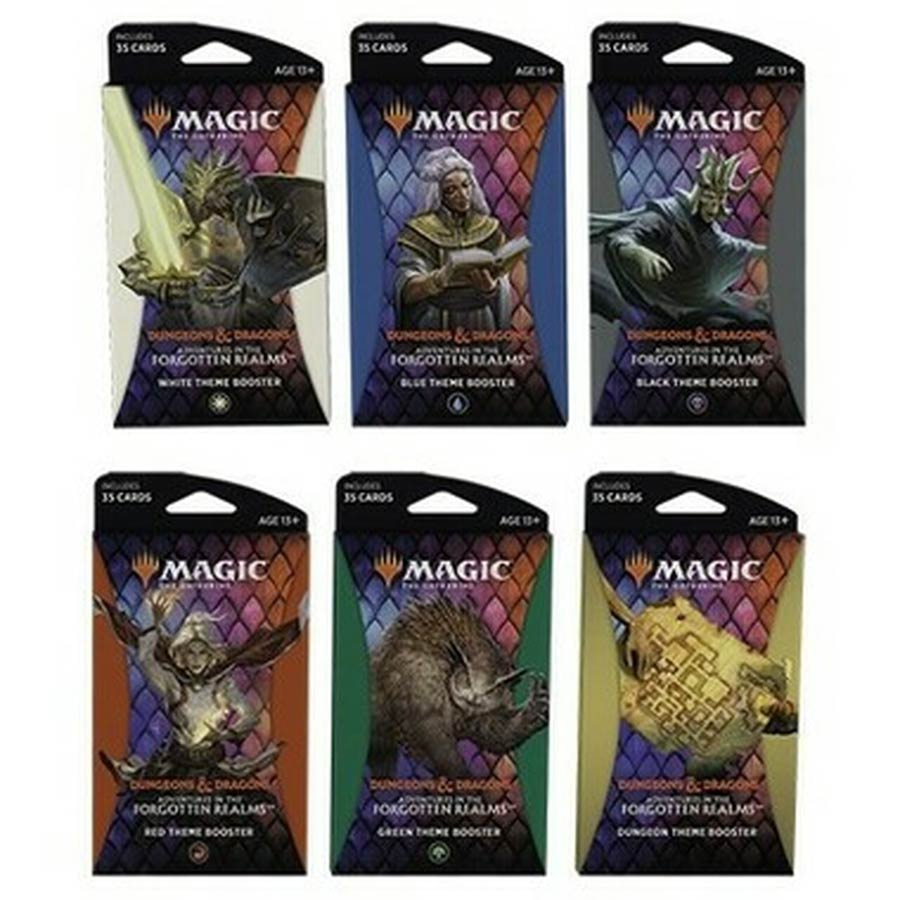 Magic The Gathering Adventures In The Forgotten Realms Theme Booster Pack (Filled Randomly)