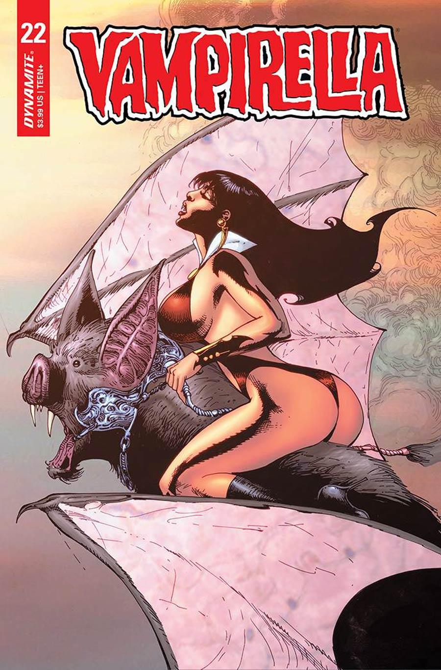 Vampirella Vol 8 #22 Cover P Variant Roberto Castro Premium Cover