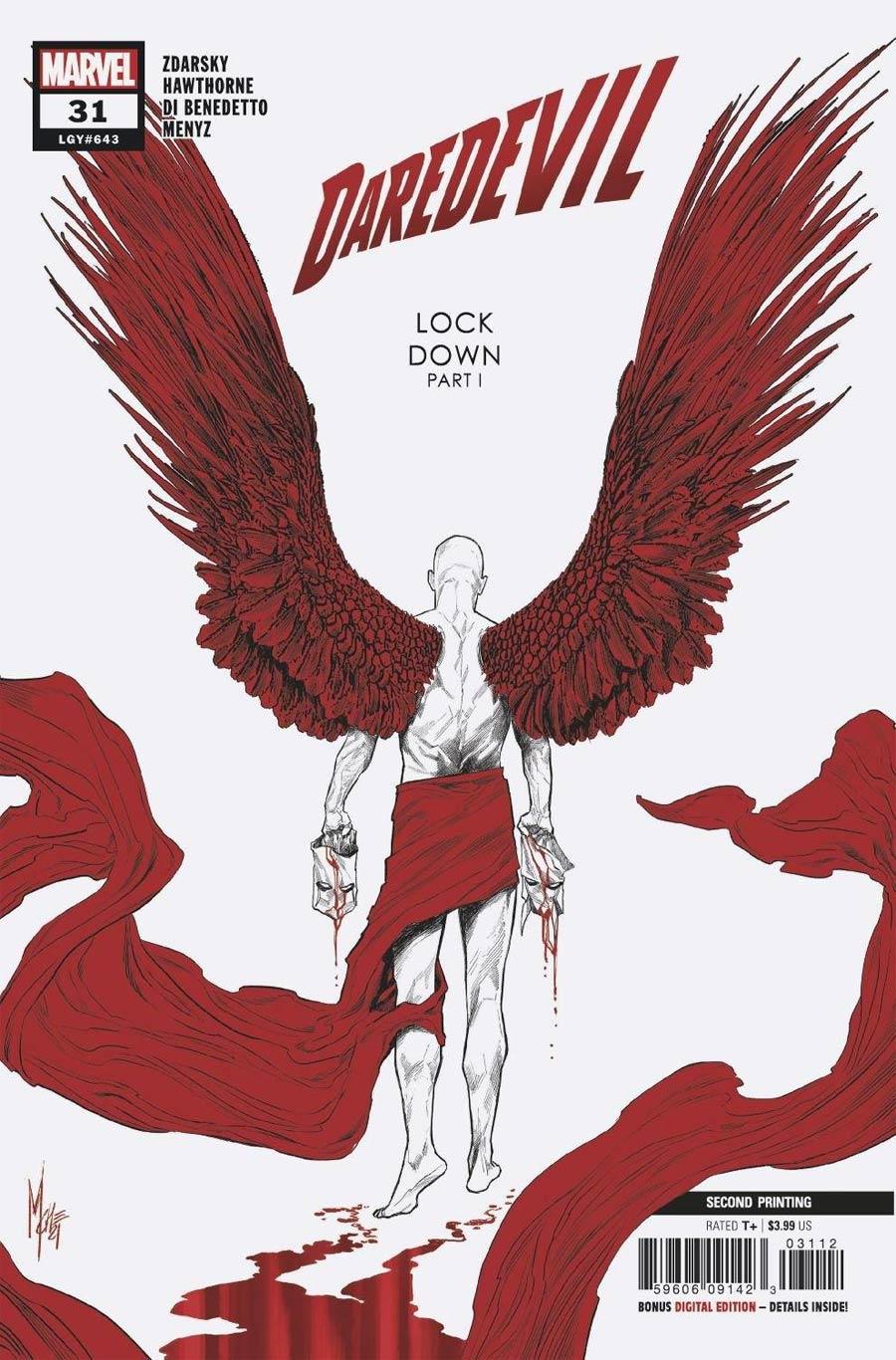 Daredevil Vol 6 #31 Cover C 2nd Ptg Variant Cover