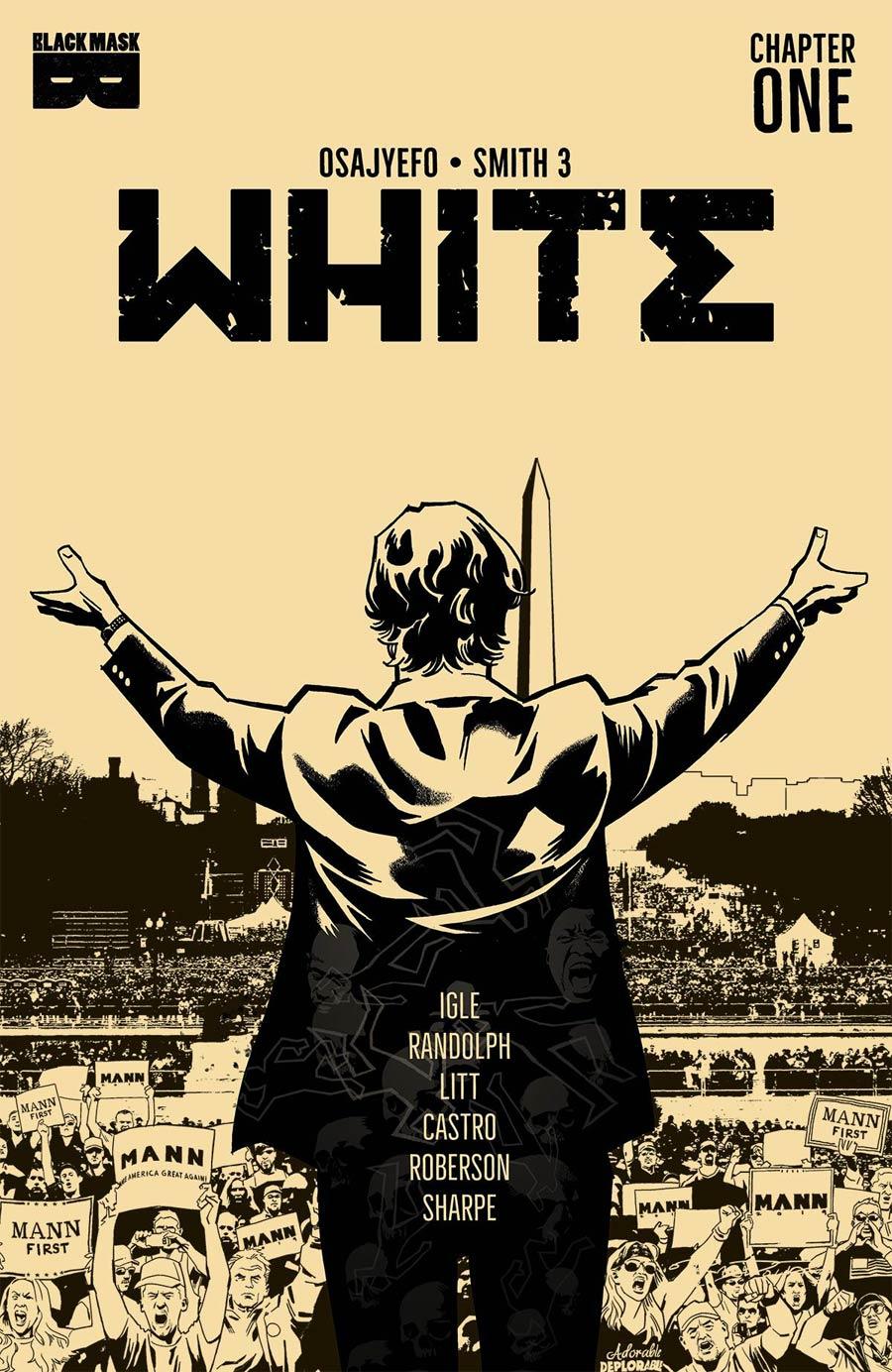 White (Black Mask Comics) #1 Cover C 3rd Ptg