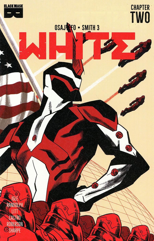 White (Black Mask Comics) #2 Cover B 2nd Ptg