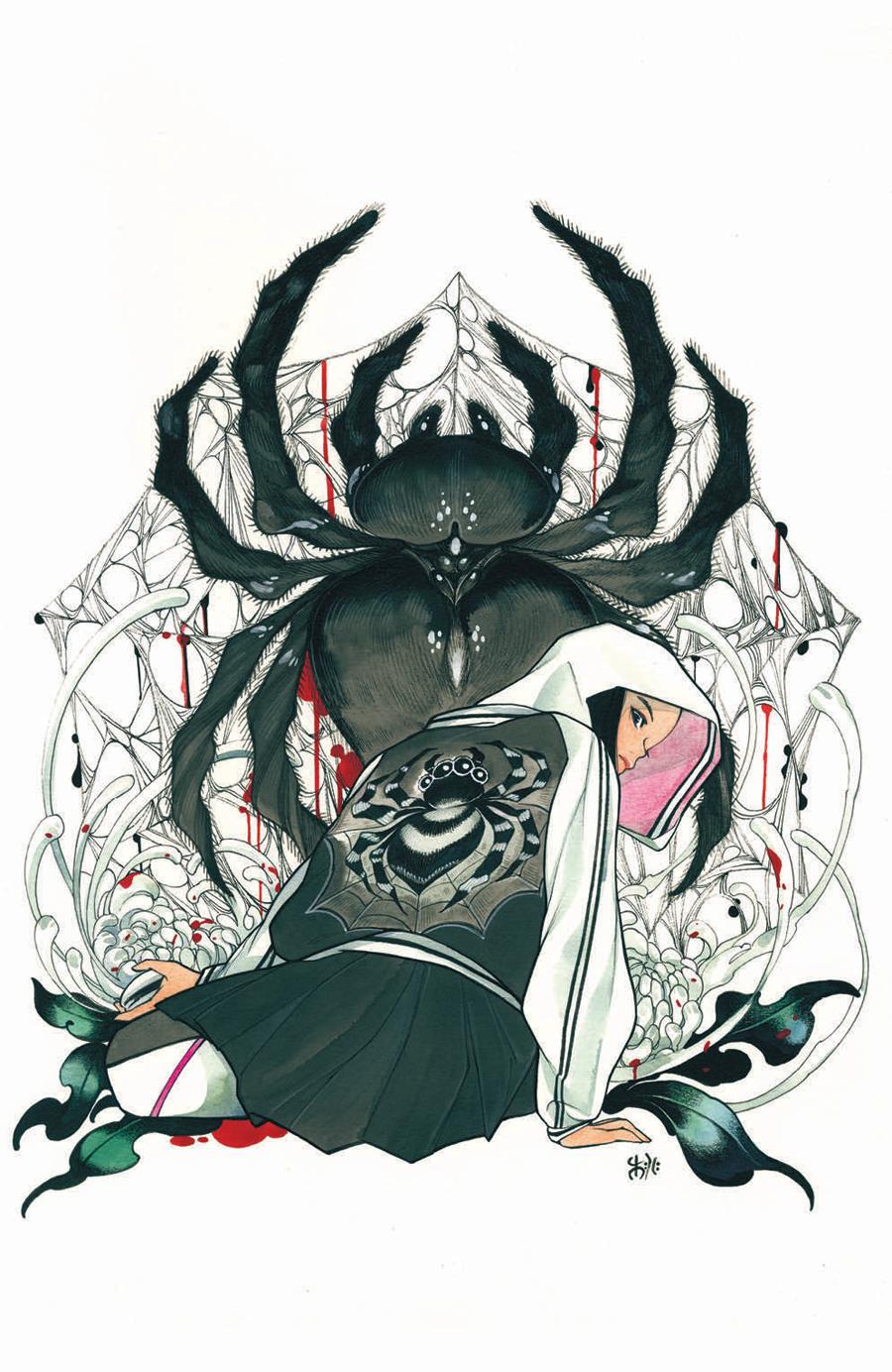 Demon Days Cursed Web #1 (One Shot)  Midtown Exclusive Cover B Peach Momoko Virgin Variant Cover