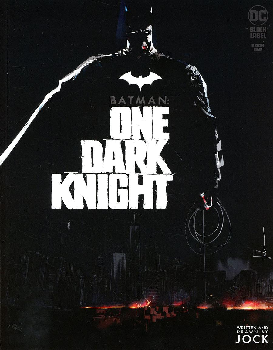 Batman One Dark Knight #1 Cover A Regular Jock Cover