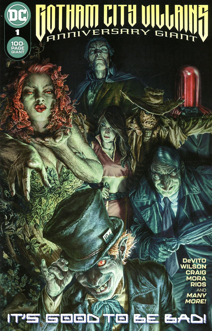 Gotham City Villains Anniversary Giant #1 (One Shot) Cover A Regular Lee Bermejo Cover