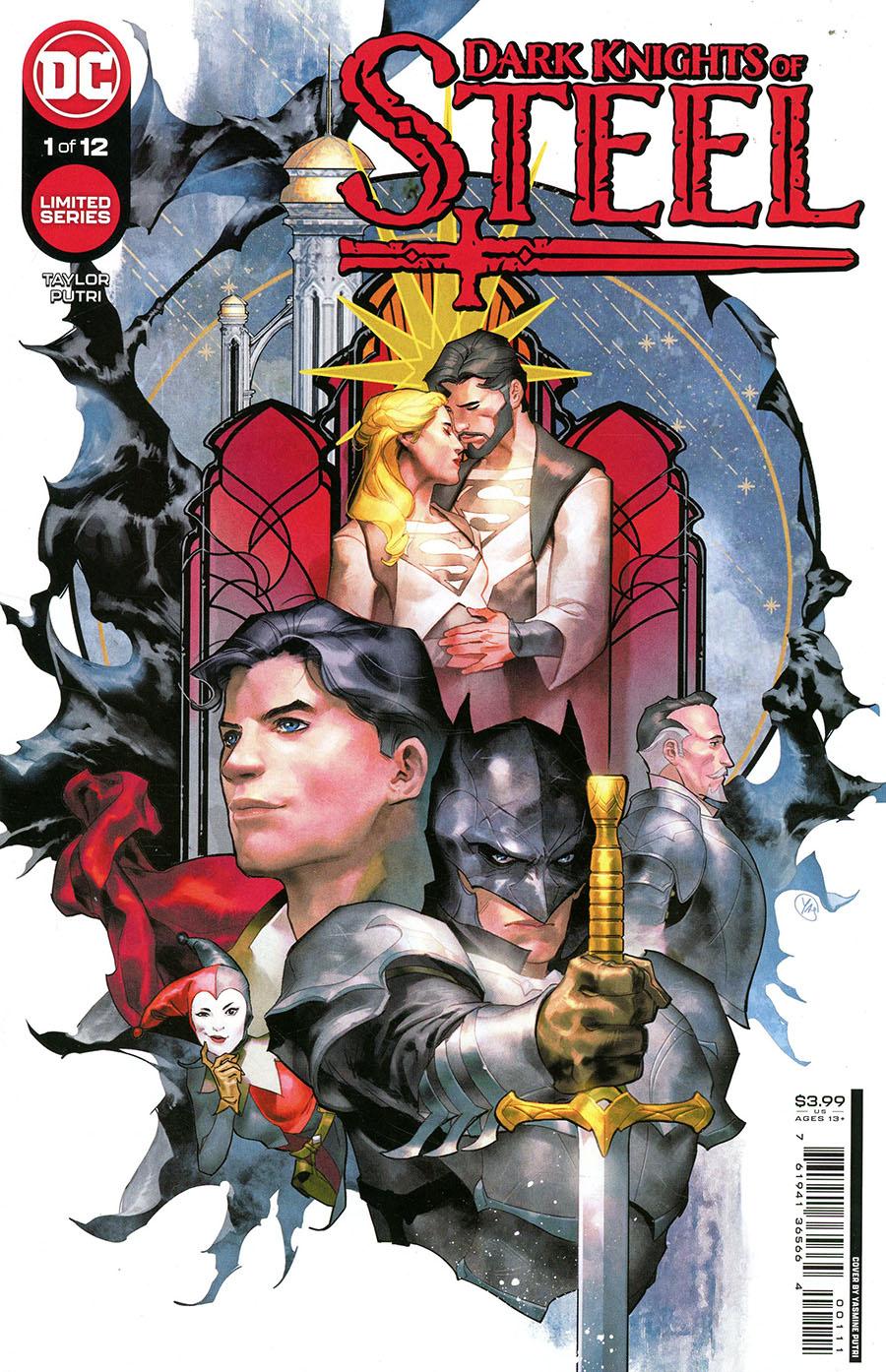 Dark Knights Of Steel #1 Cover A Regular Yasmine Putri Cover