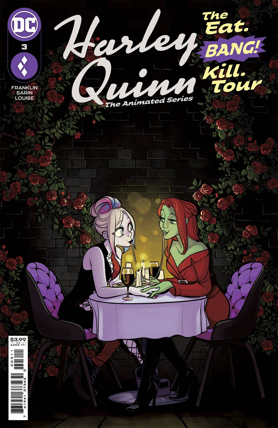 Harley Quinn The Animated Series The Eat Bang Kill Tour #3 Cover A Regular Max Sarin Cover