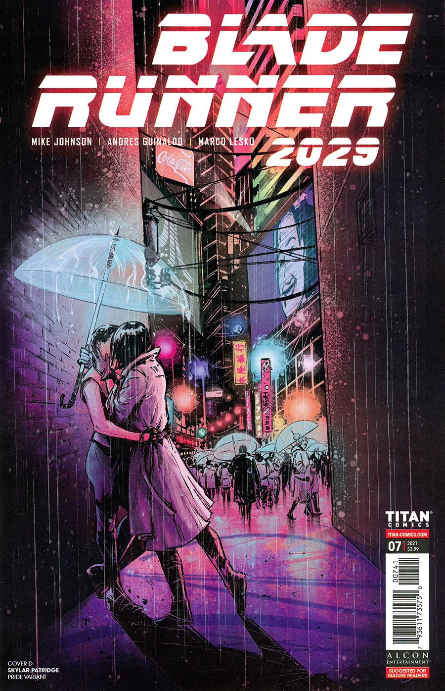 Blade Runner 2029 #7 Cover D Variant Skylar Patridge Pride Cover