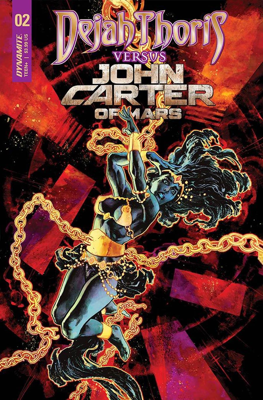 Dejah Thoris Versus John Carter Of Mars #2 Cover N Variant Sebastian Fiumara Premium Cover