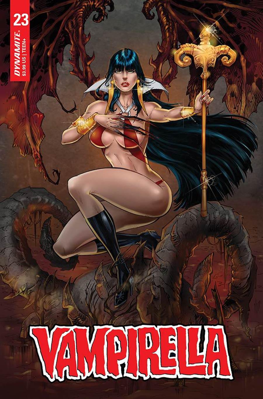 Vampirella Vol 8 #23 Cover O Variant RB White Premium Cover