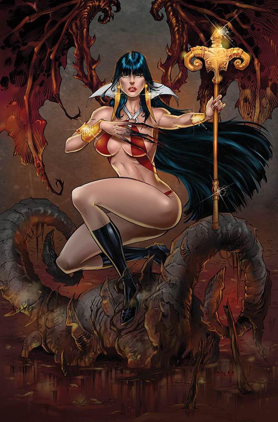 Vampirella Vol 8 #23 Cover S Incentive RB White Virgin Cover