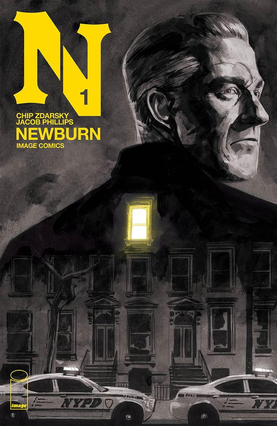 Newburn #1 Cover A Regular Jacob Phillips Cover
