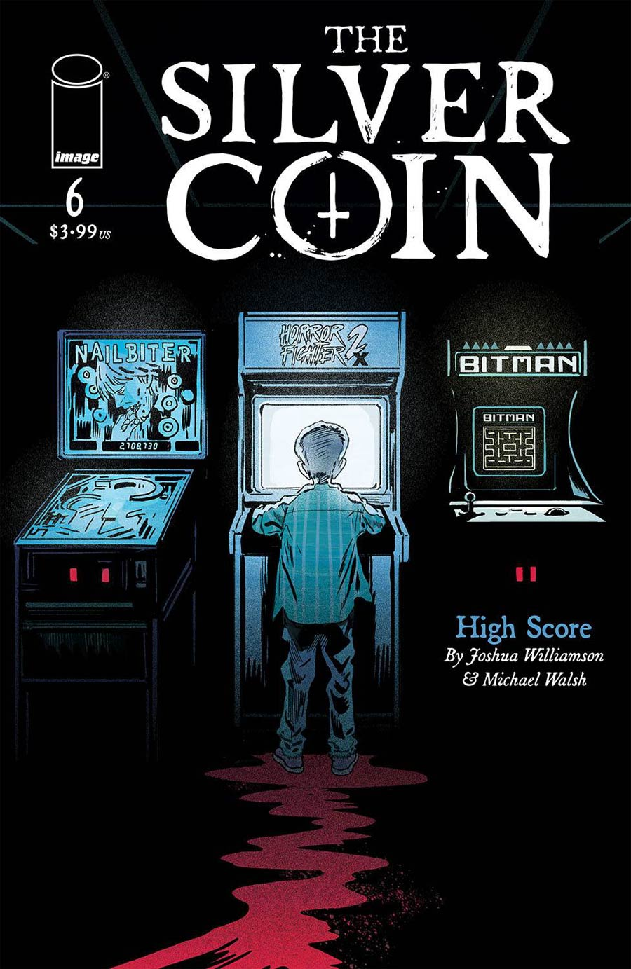 Silver Coin #6 Cover A Regular Michael Walsh Cover