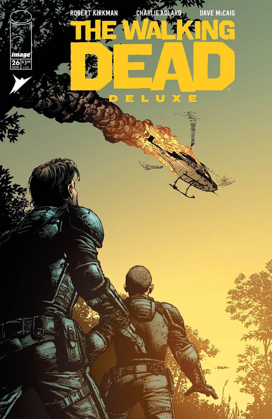 Walking Dead Deluxe #26 Cover A Regular David Finch & Dave McCaig Cover