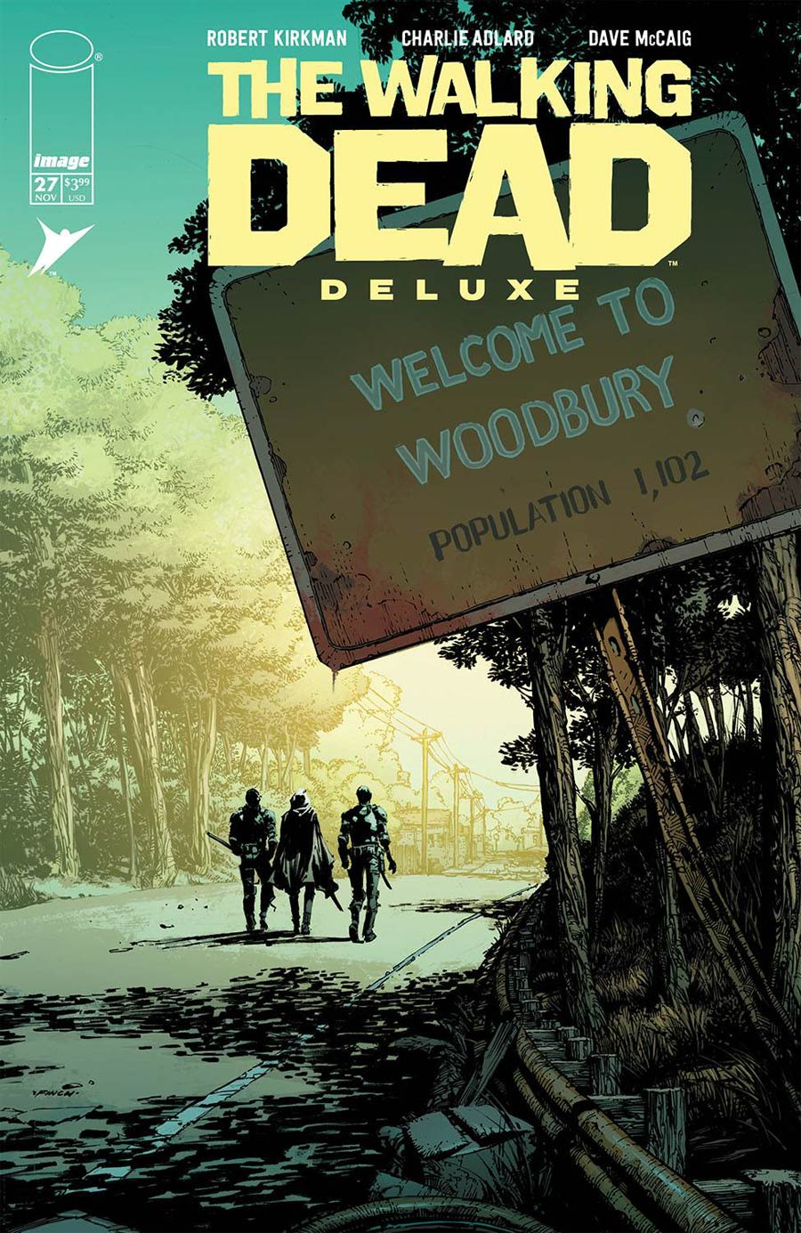 Walking Dead Deluxe #27 Cover A David Finch & Dave McCaig Cover