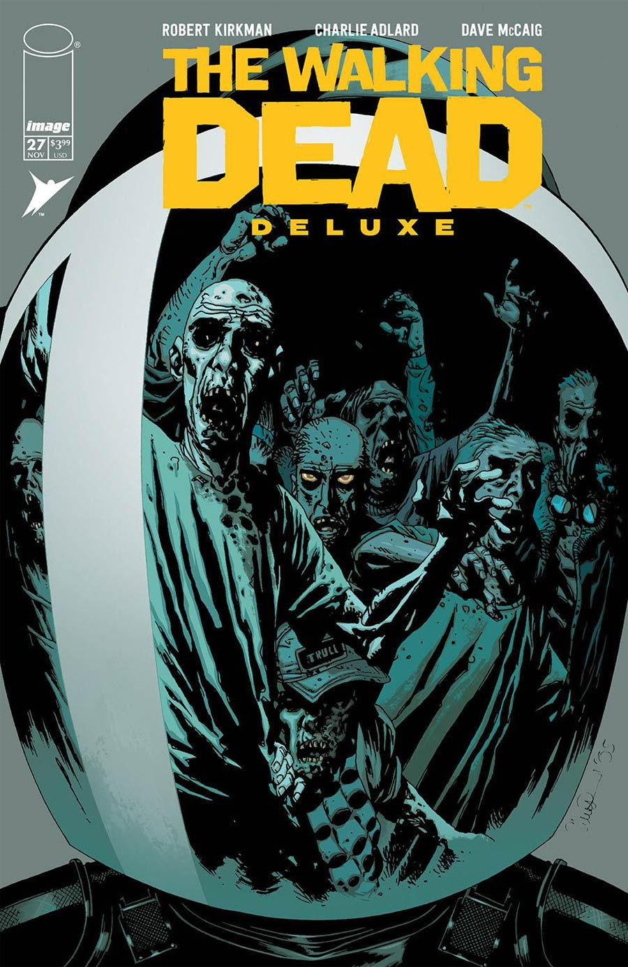 Walking Dead Deluxe #27 Cover B Variant Charlie Adlard & McCaig Cover