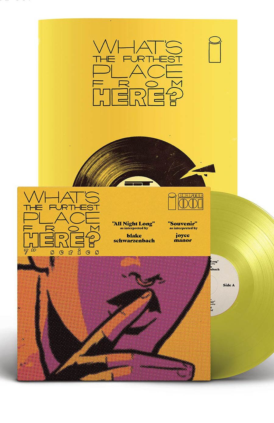 Whats The Furthest Place From Here Deluxe Edition #1 With 7-Inch Record Cover A