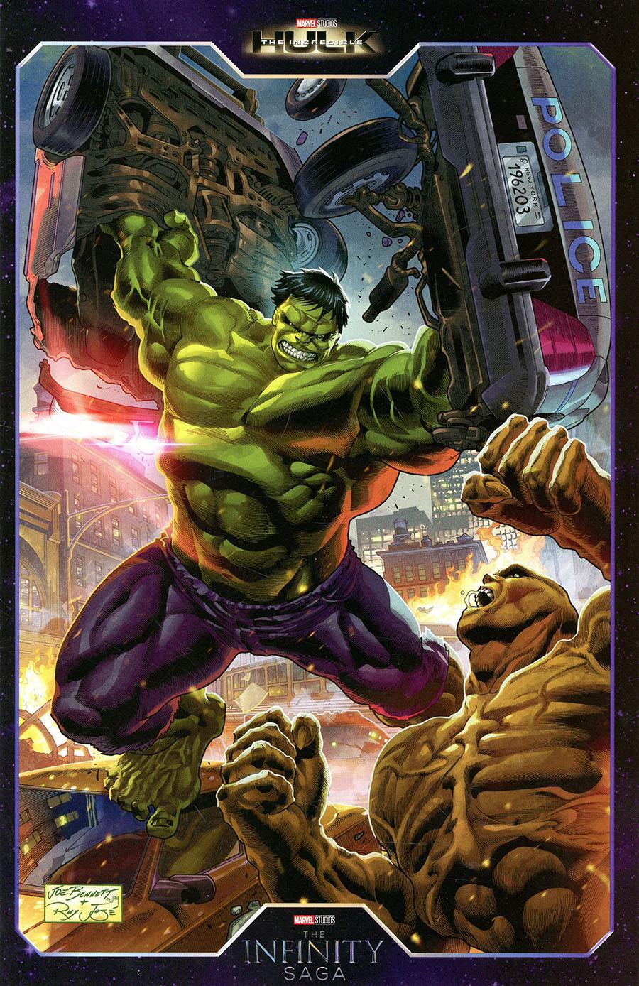 Hulk Vol 5 #1 Cover B Variant Joe Bennett Infinity Saga Phase 1 Cover