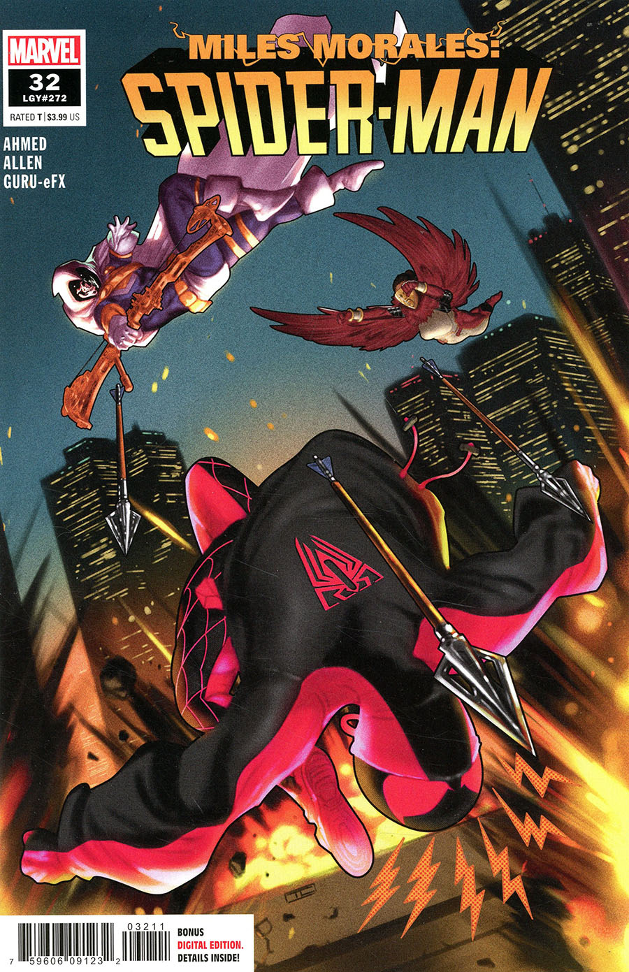 Miles Morales Spider-Man #32 Cover A Regular Taurin Clarke Cover