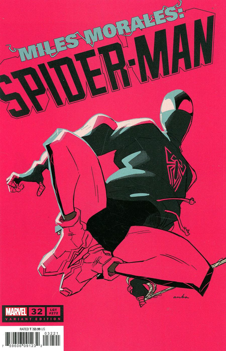 Miles Morales Spider-Man #32 Cover B Variant Kris Anka Cover