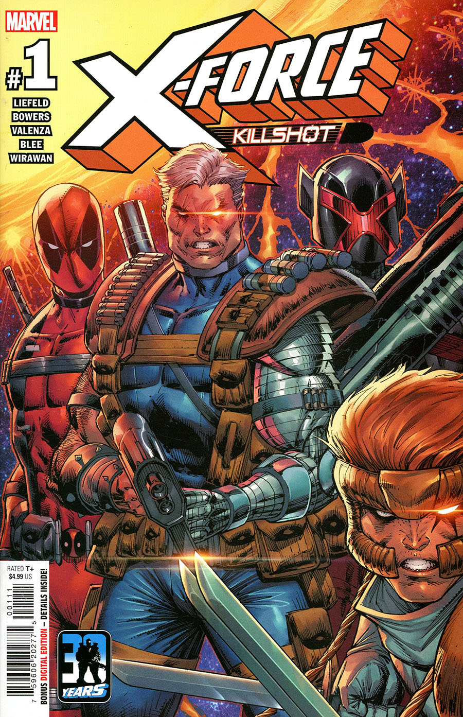X-Force Killshot Anniversary Special #1 (One Shot) Cover A Regular Rob Liefeld Cover