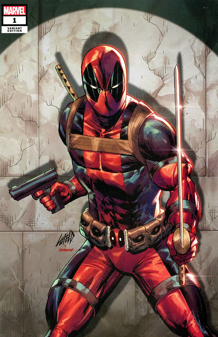 X-Force Killshot Anniversary Special #1 (One Shot) Cover D Variant Rob Liefeld Connecting B Deadpool Cover