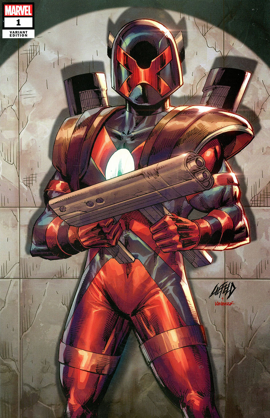 X-Force Killshot Anniversary Special #1 (One Shot) Cover E Variant Rob Liefeld Connecting C Major X Cover