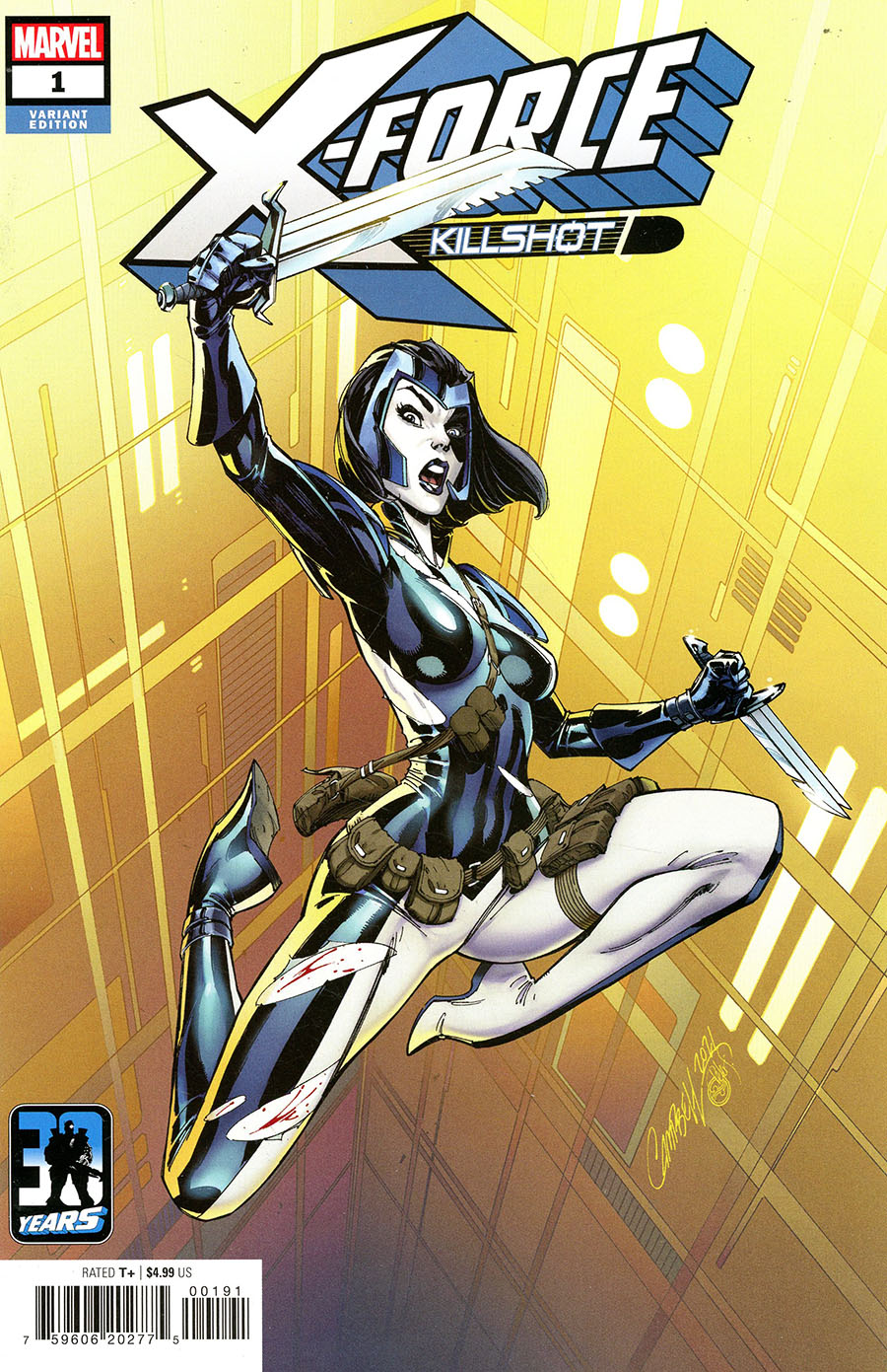 X-Force Killshot Anniversary Special #1 (One Shot) Cover I Variant Cover