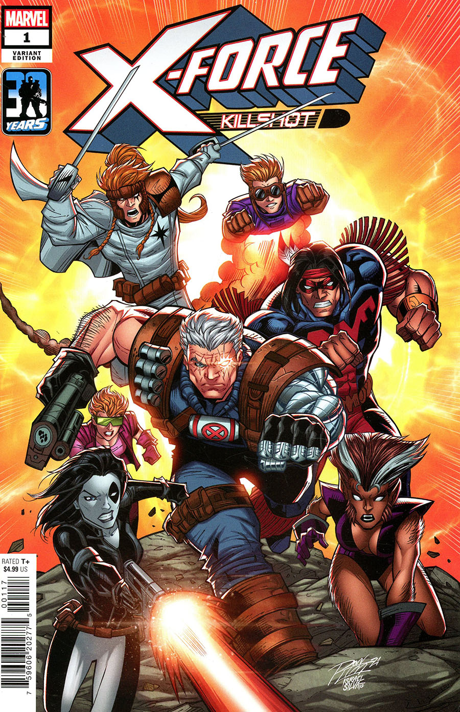 X-Force Killshot Anniversary Special #1 (One Shot) Cover J Variant Ron Lim Cover
