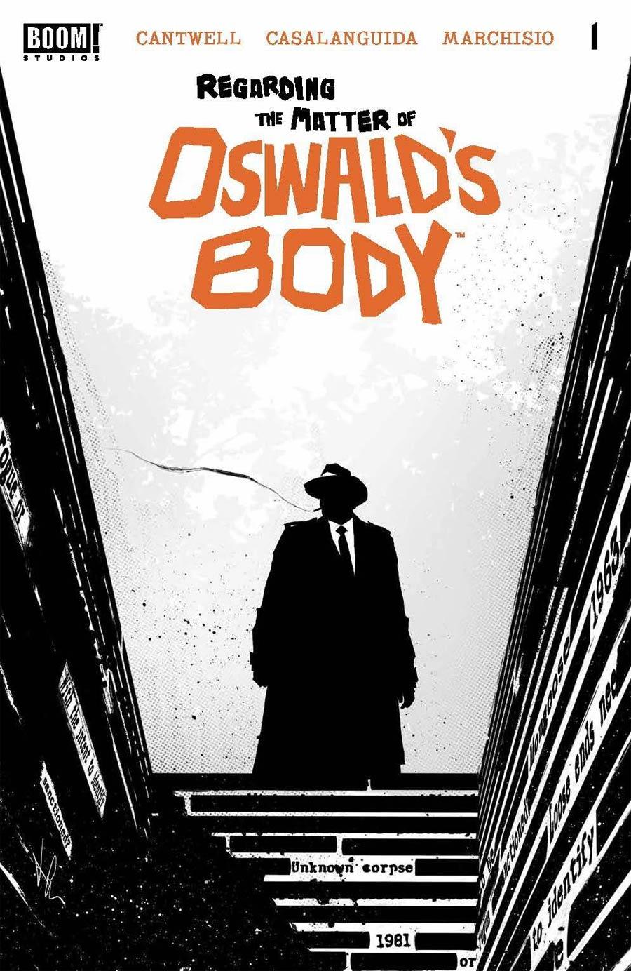 Regarding The Matter Of Oswalds Body #1 Cover A Regular Luca Casalanguida Cover