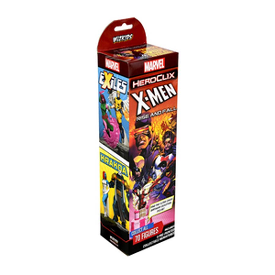 Marvel HeroClix X-Men Rise & Fall Of The Shiar Empire Booster Pack