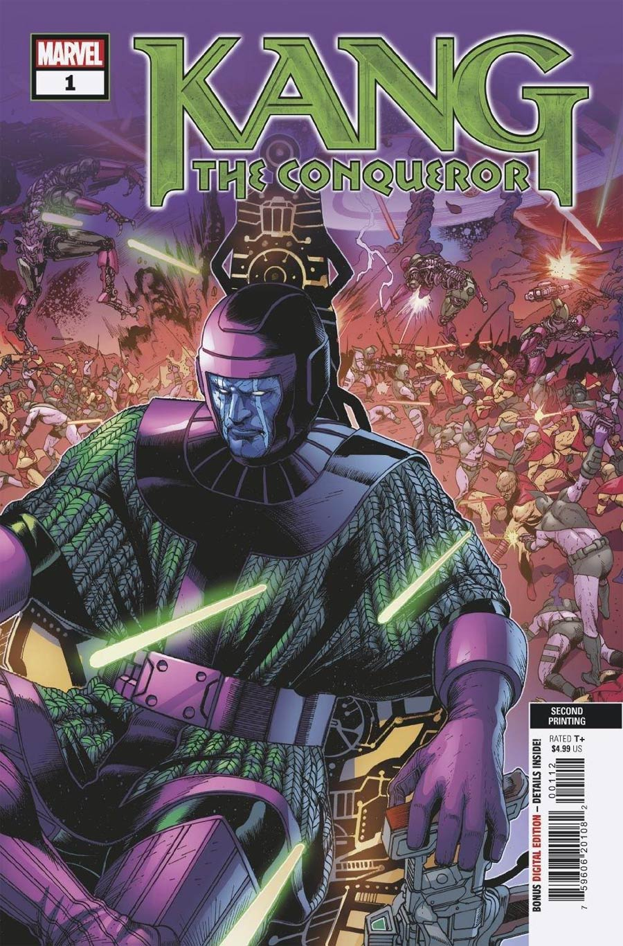 Kang The Conqueror #1 Cover M 2nd Ptg Variant Cover