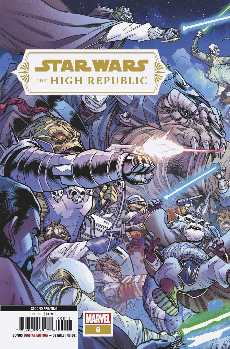 Star Wars High Republic #8 Cover D 2nd Ptg Variant Cover