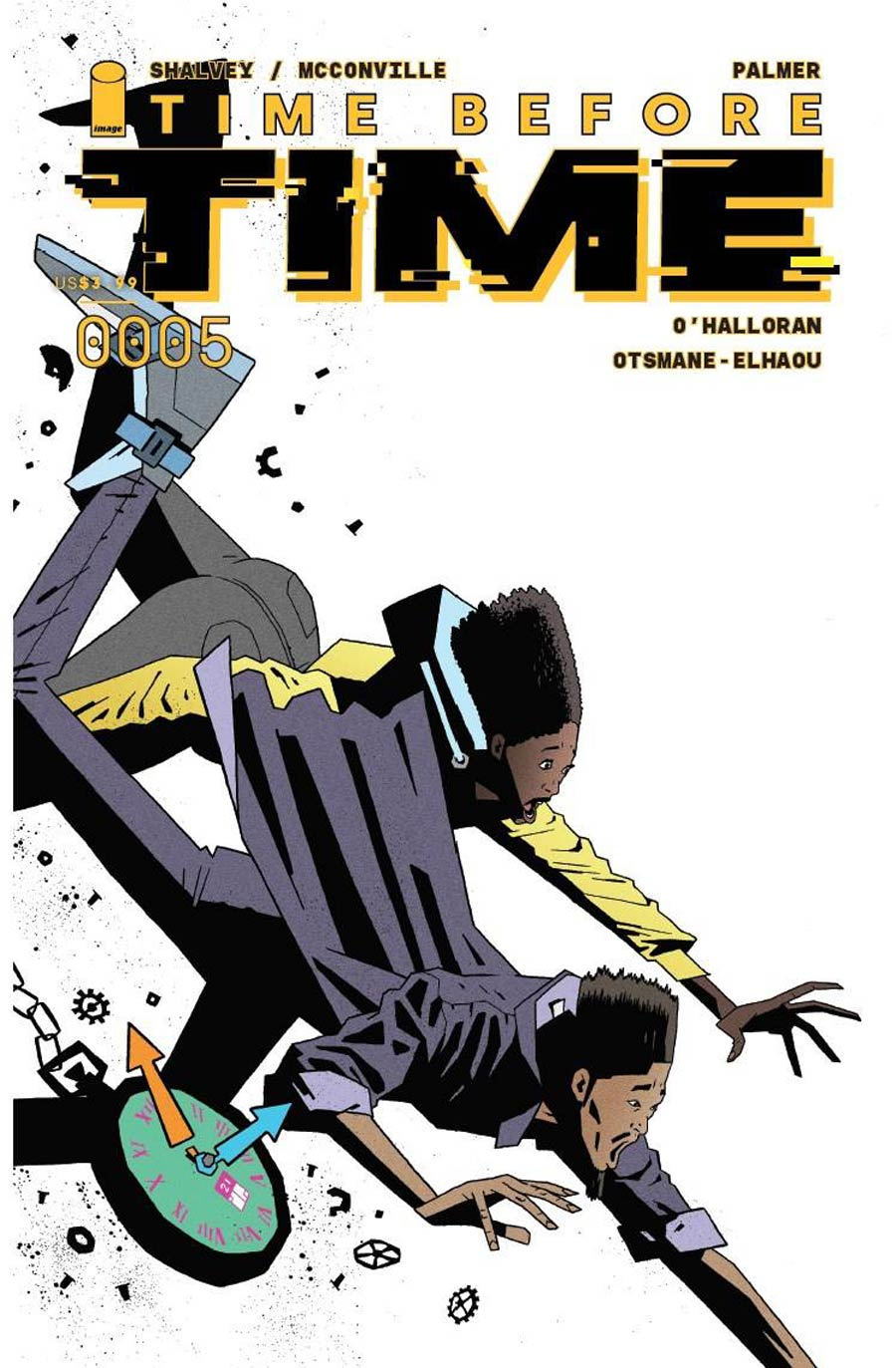 Time Before Time #5 Cover C Incentive Joe Palmer Variant Cover