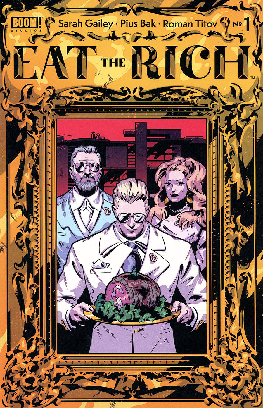 Eat The Rich #1 Cover H 2nd Ptg (Limit 1 Per Customer)