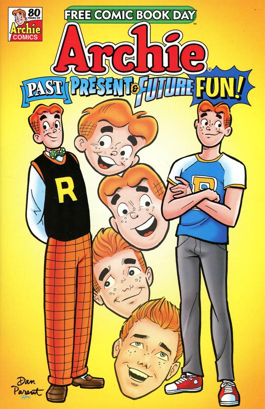 Archie Past Present & Future Fun FCBD 2021 Edition