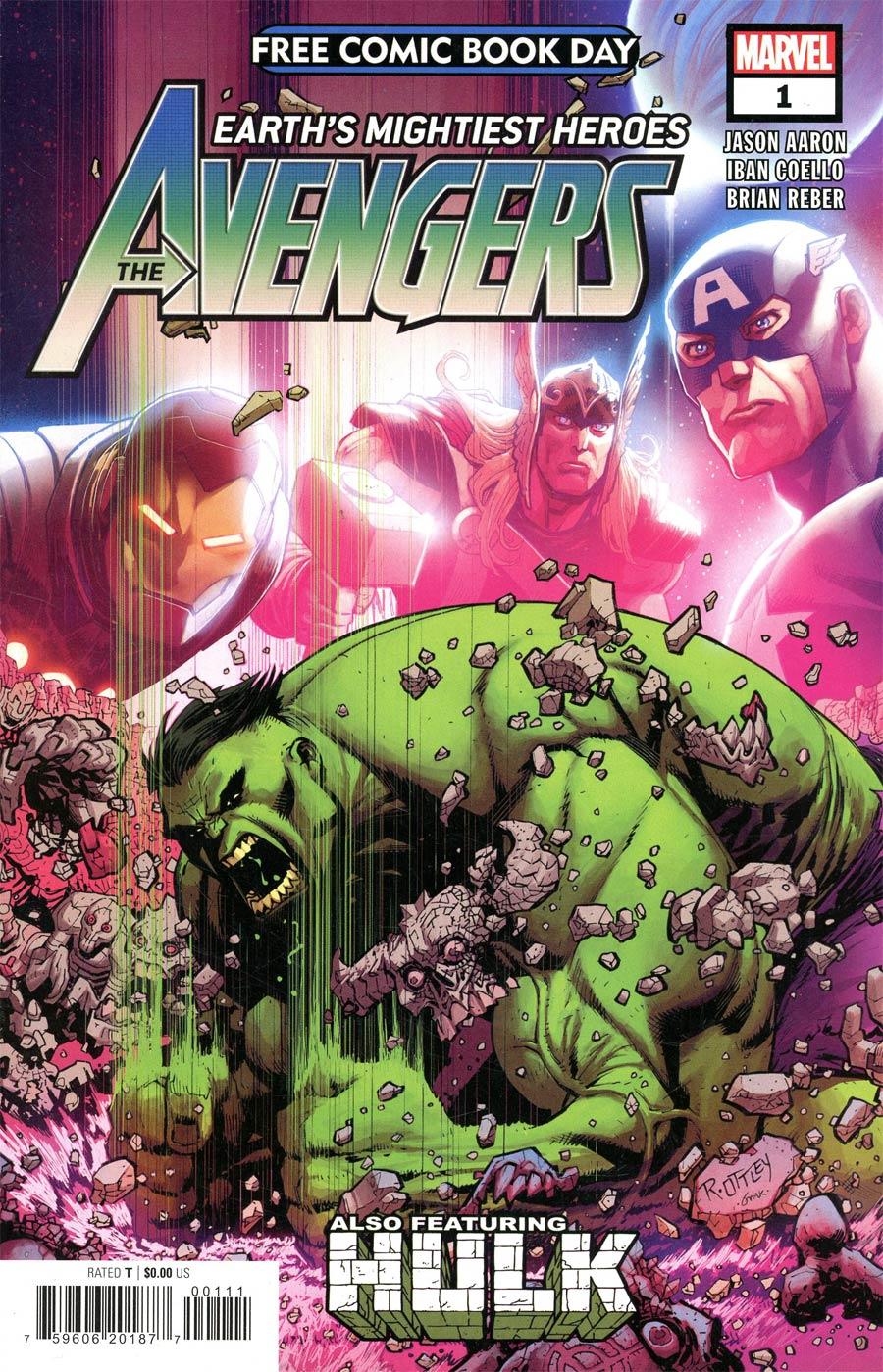 Avengers Hulk #1 FCBD 2021 Edition