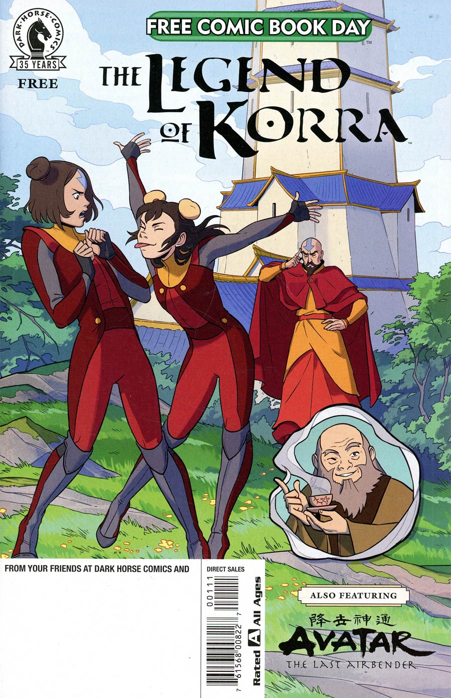 Legend Of Korra / Avatar The Last Airbender FCBD 2021 Edition